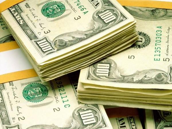 dolares dinheiro