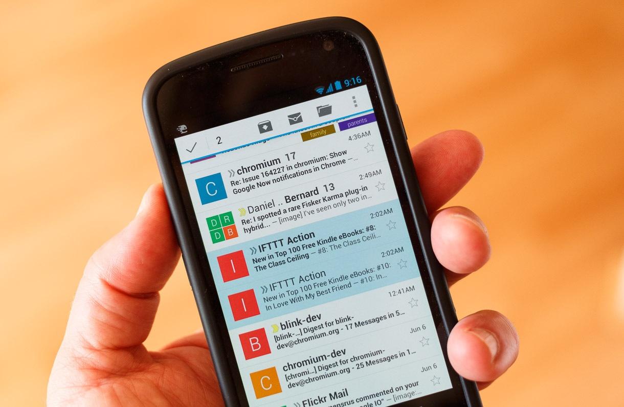 Gmail aplica criptografia contra interceptao de dados bt magazine gmail app fandeluxe Image collections