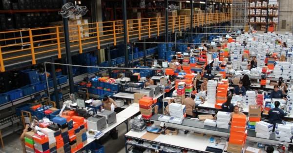netshoes - centro de distribuiçã