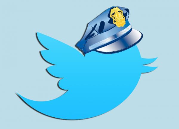 polícia twitter