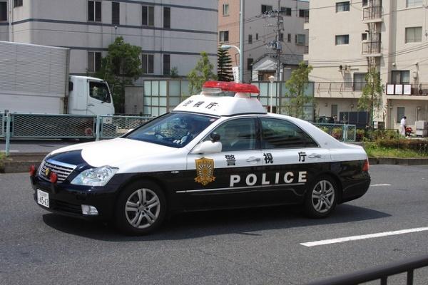 policia japão