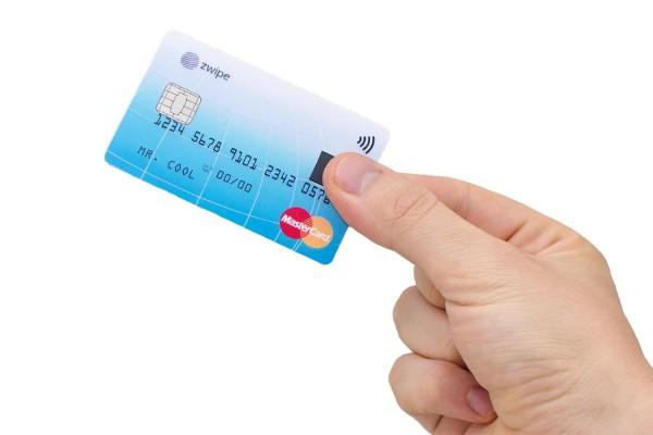 cartão mastercard zwipe