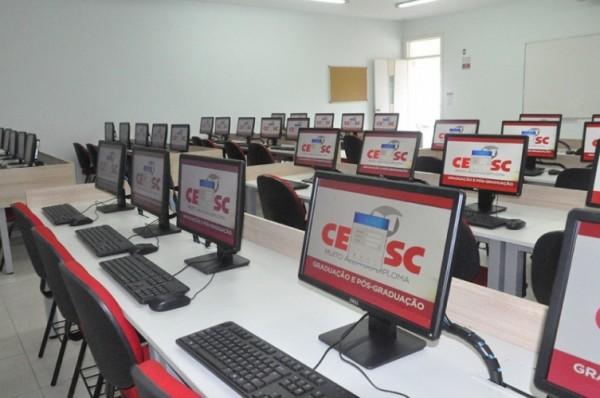 sala de aula cesusc
