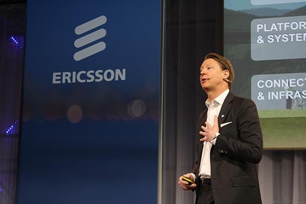 Hans Vestberg, presidente e CEO da Ericsson