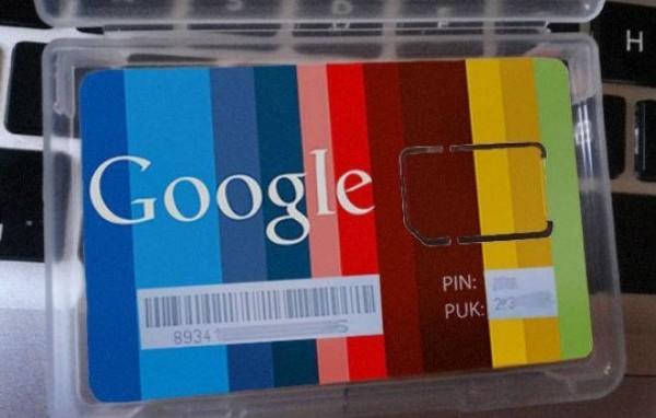 google simcard
