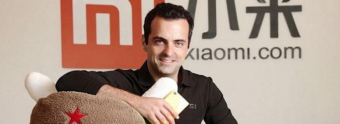 Xiaomi Mi Hugo Barra VP Global NV