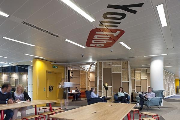 Youtube Office in London 2