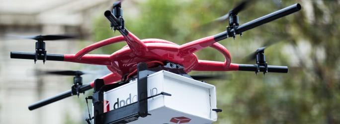 DPDgroup recebe autorização para entrega de encomendas por drones
