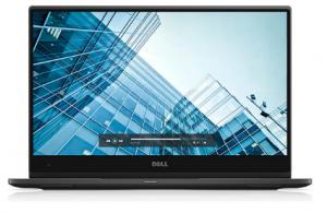 Dell 7370, detalhe da tela e sua borda muito fina